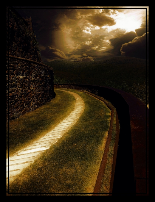 Dark Winding Road